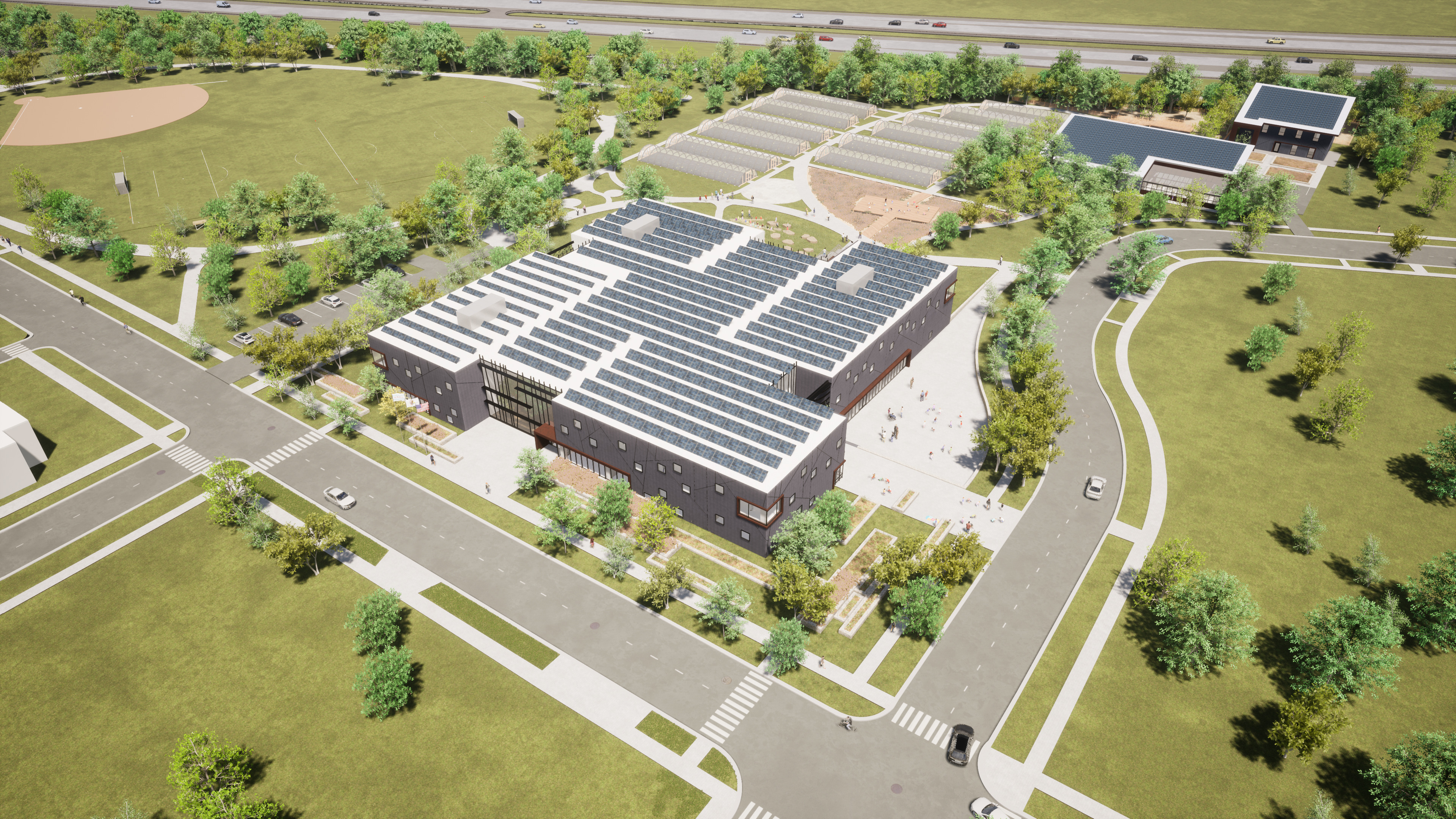 Rendering of Proposed AGC Campus